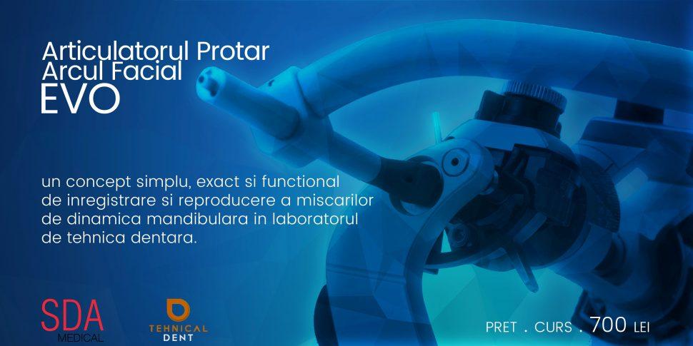 Articulatorul Protar Arcul Facial EVO
