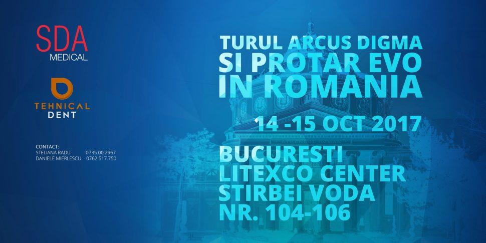 Turul Arcus Digma si Protar EVO in Romania